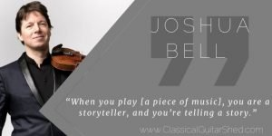 Joshua Bell on Telling Great Musical Stories Tuesday Quote