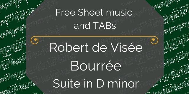"""Featured image for """"de Visée, Robert – Suite in D minor – Prelude"""""""