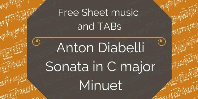"Featured image for ""Diabelli, Anton – Sonata in C Major – Minuet"""