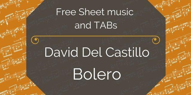 """Featured image for """"Castillo, David del – Bolero"""""""