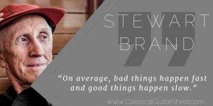 Stewart Brand Tuesday Quote