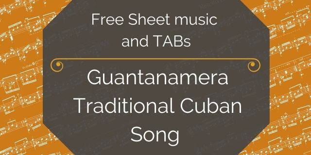 """Featured image for """"Traditional Cuban Song – Guantanamera"""""""