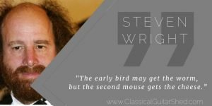 Steven Wright Early Bird Cheese