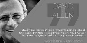 David Allen Healthy Skepticism Guitar