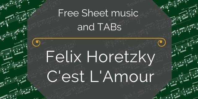 """Featured image for """"Horetzky, Felix – C'est L'Amour"""""""