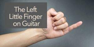 little finger guitar