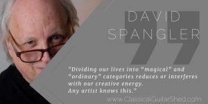 David Spangler on magic and art