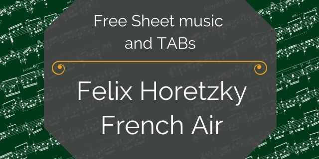 """Featured image for """"Horetzy, Felix – French Air"""""""