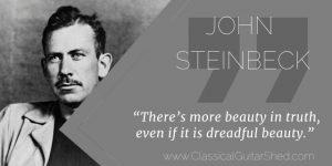 John Steinbeck Beauty Guitar
