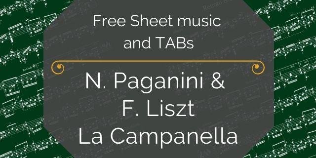 """Featured image for """"Paganini, Niccolo/Liszt, Franz – La Campanella"""""""