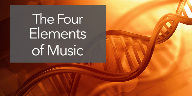 """Featured image for """"The Four Elements of Music – Musical DNA, and How Music Works"""""""