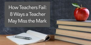signs of bad teaching