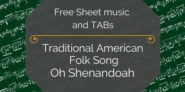 """Featured image for """"Folk Song, American – Oh Shenandoah"""""""