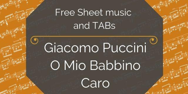 """Featured image for """"Puccini, Giacomo – O Mio Babbino Caro"""""""