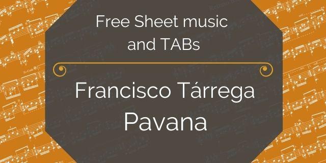 "Featured image for ""Tarrega, Francisco – Pavana"""