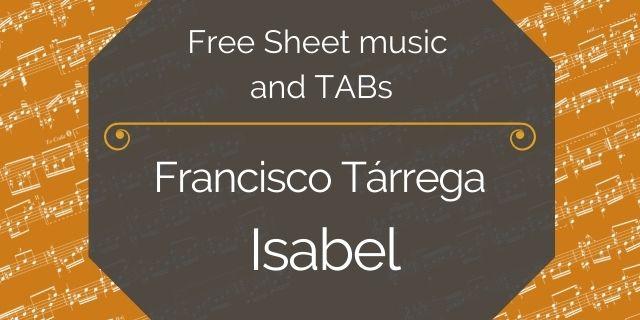 "Featured image for ""Tarrega, Francisco – Isabel"""