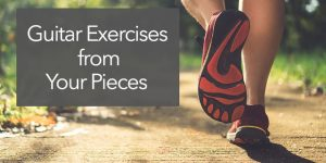Create exercises from pieces of music